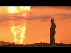 documentary on the disaster of the Kuwaitian oil fields in flames