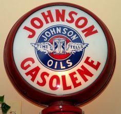 Johnson oil gas pump globe