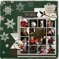 Once Upon a Christmas Layout featuring Monique Liedtke