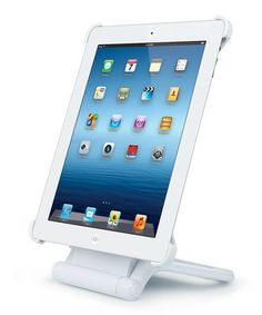 Take a look at this White Rotating Stand for iPad 3 by Merkury Innovations on #zulily today!