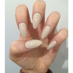 x Simple Nude x Matte or gloss nude nails quality press on false nails ($7.87) ❤ liked on Polyvore featuring beauty products, nail care, nail treatments et nails