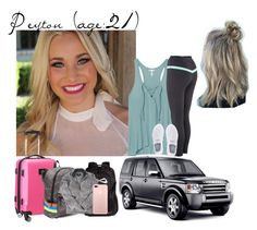 """Peyton // 4-9-17 // Flight To Dallas For Cheer Tryouts"" by dream-families ❤ liked on Polyvore featuring Victoria's Secret, NIKE, Denco Sports Luggage and TheWadeFamily"