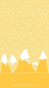 fond d'écran téléchargeable iphone5 iphone 5s jaune