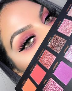 Huda beauty desert dusk eyeshadow palette #makeup #beauty #ad