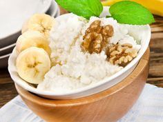 High protein breakfast: Banana and cottage cheese