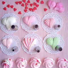 1 million+ Stunning Free Images to Use Anywhere Cake Decorating For Beginners, Cake Decorating Techniques, Cake Decorating Tutorials, Meringue Desserts, Meringue Cookies, Meringue Kisses, Cake Decorating Piping, Cookie Decorating, Frosting Flowers