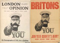 A recruitment poster of the stern-eyed Lord Kitchener has become a defining image of World War One. Ww1 Posters, Ww1 Photos, Front Cover Designs, British Broadcasting Corporation, War Tattoo, Pointing Fingers, Science Photos, Television Program, World War One