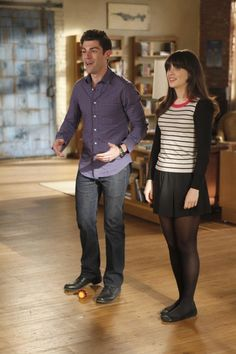 """Get rid of it, Jess. Pine has no place in this loft. It's the wood of poor people and outhouses."" (New Girl - ""Control"")"