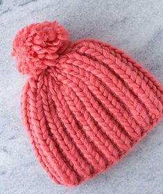 Knitting Pattern-Quick /& Easy Femmes Fancy Rib-Aran béret chapeau.