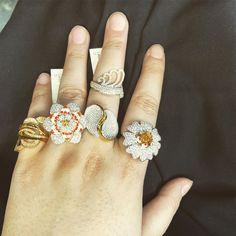 To but this whatsapp Latest Rings Available At Hollywood Ornaments Contact:- Address:- Main Road Hari Singh High Street Amira kadal… Srinagar, Gold Jewellery, Jewelry, Maine, Hollywood, Ornaments, Bridal, Street, Earrings