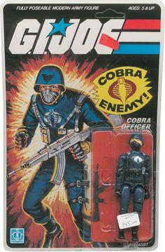 Cobra Officer (v1) G.I. Joe Action Figure - YoJoe Archive