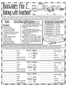 I LOVE this activity, and so do my kiddos. Teaching fractions let alone how to multiply them by whole numbers, other fractions, or mixed numbers, can be tough. However this fun class activity is sure to sweeten things up. This is a wonderful worksheet Multiplying Fractions, Teaching Fractions, Teaching Math, Dividing Fractions, Equivalent Fractions, Integers, Percents, Math Teacher, Teacher Stuff