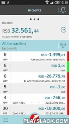 M-banking  Android App - playslack.com , Download, install and enjoy our Android app - it is free to download.. The full gesture navigation and smart payment box are easy-to-use and offer a simple way to make payments. Best of all, the app offers services for everyone, regardless of whether they are a UniCredit client or not. All app users will have access to the following features:• Interactive tutorial• ATM and Branch finder• Current currency rates • Currency converter• Banking contactsFor…