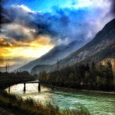 Train ride from #Villach to #Salzburg was pretty amazing. . . . . . #travel #love #instatravel #wanderlust #tourist #happiness #beautiful #justvisiting #beautifuldestinations  #jetsetter #adventure #travelphotography #iphone #iphonephotography #europe @beautifuldestinations #austria