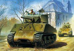 1945 M4A3E2 Jumbo tank