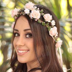 Coroinha de Flores Bailarina Dupla - G.Offer