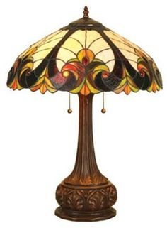 Stained Glass Tiffany Lamp - Finding something with the same mood, is a hard thing to do.