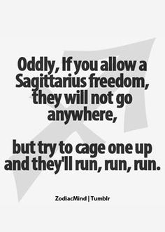 Sagittarius -- TRUE STORY!