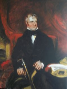 ARTFINDER: Portrait of Sir Walter Scott by Jack Bagley - Painted with Lawrence's portrait in mind, this was painted in admiration of both the artist and the sitter.  UPDATE: The painting has become damaged unfort...