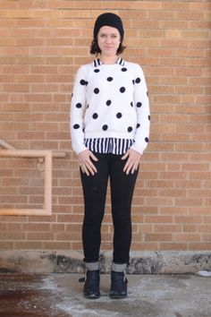 Mixing dots and stripes oh-so-delightfully