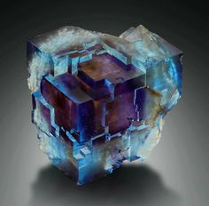 Minerals, Crystals & Fossils - Fluorite - Minerva Mine, Hardin Co. Minerals And Gemstones, Rocks And Minerals, Beautiful Rocks, Beautiful Pictures, Mineral Stone, Vanitas, Rocks And Gems, Stones And Crystals, Gem Stones