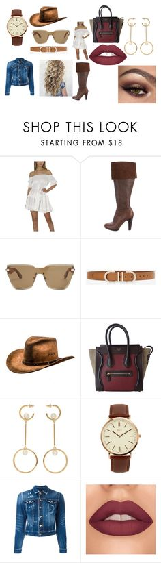 """""""country"""" by pinklexi04 on Polyvore featuring Miu Miu, Givenchy, White House Black Market, CÉLINE, Chloé, BKE, Dsquared2 and country"""