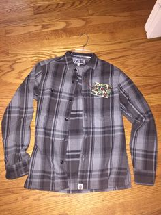 Bape Bape Flannel Shirt Deadstock (Retail 360$) Size S $162 - Grailed