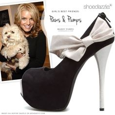 Black & white with a little bow to top it off Shoe Boots, Shoes Heels, Pumps, Stilettos, Teen Fashion, Fashion Shoes, Fashion Trends, Cute Shoes, Me Too Shoes