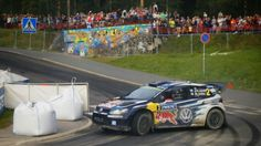 Great first day for Jari-Matti Latvala in Harju 2015 Neste Rally Finland, Jyväskylä. Photo by Jukka Kolari, Coriosi www.coriosi.com
