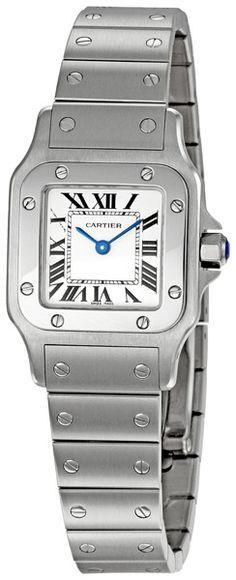 Cartier Santos Steel Ladies Watch W20056D6 $3,599.00