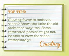 Top Tip #1: Video Marketing