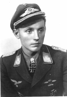 "Erich Alfred Hartmann (19 April 1922 – 20 September 1993), nicknamed ""Bubi"" (the hypocoristic form of ""young boy"") by his comrades and ""The Black Devil"" by his Soviet adversaries, was a German fighter pilot during World War II and is the highest-scoring fighter ace in the history of aerial warfare. He claimed 352 aerial victories."