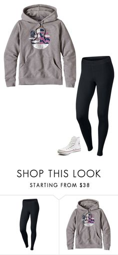 """Untitled #223"" by realaddietude ❤ liked on Polyvore featuring NIKE, Patagonia and Converse"