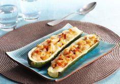 Courgettes farcies au saumon | Croquons La Vie - Nestlé