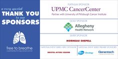 University Of Pittsburgh, Lung Cancer, Vinyl Banners, Marketing Materials