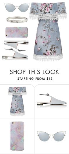 """Untitled #423"" by omgitskaylapope ❤ liked on Polyvore featuring WearAll, Barneys New York and Cartier"