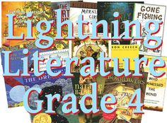 Lightning Literature Grade 4 is... Coming Soon! Students read a variety of great children's literature, classic and modern. Two books written in verse encourage students to explore poetry in different ways than they may have previously. An inspiring nonfiction story of a boy's quest in Africa to bring electric power to his home provides lessons on expository, descriptive, persuasive, and narrative... Click through for more details.
