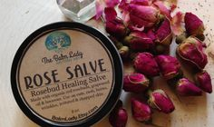 Rose Salve Skin Healing Remedy for Scars itchy dry Skin