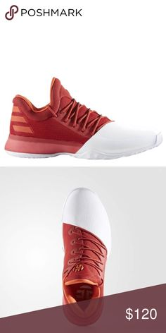 043060ec46f James Harden Vol 1   Red-White - Size New with box  ) adidas Shoes Athletic  Shoes