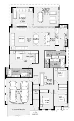 Discover Home Group's newest display homes in Perth. We can help you build your new home with no saving & no guarantor! House Layout Plans, Best House Plans, Dream House Plans, House Layouts, Modern House Floor Plans, Home Design Floor Plans, Duplex Floor Plans, 2 Bedroom House Plans, Latest House Designs