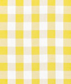 Shop Discount Fabric on Clearance Gingham Fabric, Yellow Fabric, Striped Fabrics, Yellow Theme, Red Green Yellow, Color Yellow, Checker Wallpaper, Plaid Wallpaper, Curtain Material