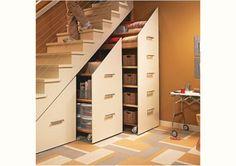 Under-Stair Storage Cabinets – Home and Garden