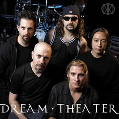 John Petrucci, Jordan Ruddess, Mike Portnoy, James Labrie, and John Myueng. Collectively known as Dream Theater. Huge part of my childhood.