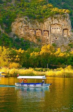"Good morning from #Dalyan - definitely ""must visit"" place"