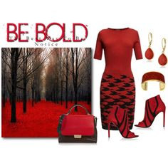 Be Bold by sjlew on Polyvore featuring Balenciaga, Emilio Pucci and Vintage America