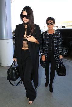 New Trending Celebrity Looks: kendallnjennerfashionstyle:   September 28, 2015 - At LAX....  kendallnjennerfashionstyle:   September 28, 2015 – At LAX airport.