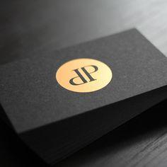 Visitenkarten mit schwarzem Karton - Die Papierveredler.de
