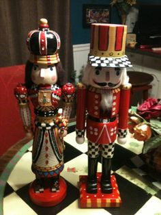 Queen and King Nutcrackers
