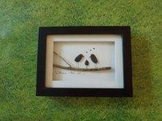 Pebble Art - 'Welcome little one' on Etsy, 15,20 €