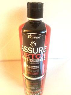 Total Eclipse Assure Detox  Scientific Toxin Removal System Fruit Punch 32 oz. #AcmeWholesale